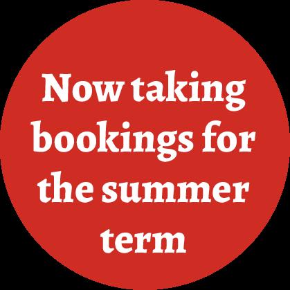 bookings-summer-term-2